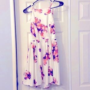 •FancyInn•Floral Backless Dress(Graduation/Prom)•S